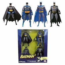 DC: BATMAN THROUGH THE AGES figure boxed set (4 pack) - RARE (superman/statue)