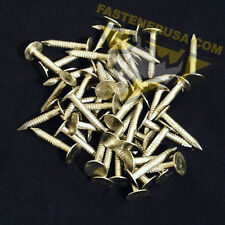 "1"" Annular Ring Shank Solid 304 Stainless Steel Roofing Nails 10 ga. (50 pcs)"