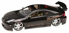 Black Toyota Celica Import Racer 1/18 Scale Diecast Model Car