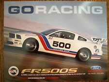 Ford Racing Mustang   FR500S   Info Sales Card