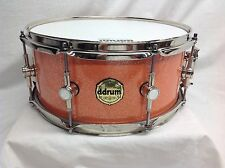 """Ddrum Paladin 14"""" Diameter Snare/Maple Shell/Vintage Coral Sparkle/Free Case"""