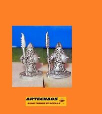 DARK CHAOS DWARF/ CULTISTS B / 2 x 15MM METAL FIGS /S.L.M.