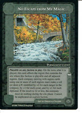 MIDDLE EARTH THE DRAGONS RARE CARD NO ESCAPE FROM MY MAGIC