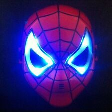 New Spider Man LED Light up Mask for Halloween Party Costume Cosplay Kids Toy