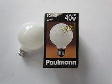 RARITÄT - PAULMANN Globelampe E27 40W 230V G80 Soft Opal Glühlampe