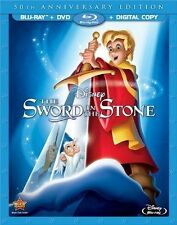 The Sword in the Stone (Blu-ray Disc, 2013, 2-Disc Set, 50th Anniversary)