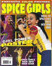 SPICE GIRLS Hit Sensations Poster Series Magazine GIANT FOLDOUT