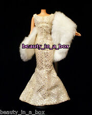 Marilyn Monroe Timeless Treasures Happy Birthday Gown Fashion for Barbie Doll