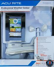 Acurite Professional Color Weather Center Wireless Sensor 5 in 1 Easy Mount