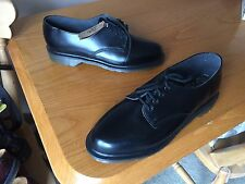 Vintage Dr Martens 2093 black shoes UK 7 EU 41 England skin ward mod kawaii 1461