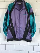 VINTAGE RETRO OLD SCHOOL FESTIVAL 80'S ADIDAS SHELL SUIT JACKET WINDBREAKER #45