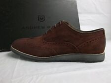 Andrew Marc Size 11 M Rockwood Oxblood Suede Oxfords New Mens Shoes