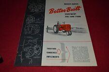 Massey Harris Ferguson Buyers Guide 1940 Dealers Brochure BWPA ver13