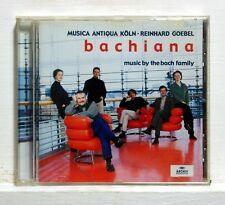 REINHARD GOEBEL - BACHIANA music by the bach family ARCHIV CD NM