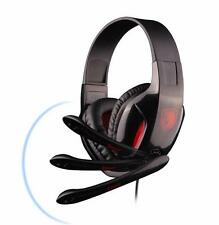 SADES ePOWER SA-707 Stereo PC Gaming Headset Headphones Noise Cancel Mic 3.5mm