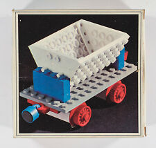 Vintage Lego System Train Tipper Truck set 125 with box and instructions 1970s