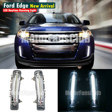 New LED Daytime Running Light For Ford Edge SUV Fog Lamp DRL 2011 2012 2013 2014