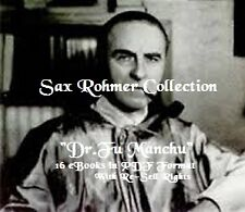 "CD - Sax Rohmer - ""Fu Manchu"" Collection - 16 eBooks (Resell Rights)"