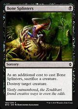 4x 4 x Bone Splinters x 4 Common Battle for Zendikar MINT UNPLAYED MTG Magic