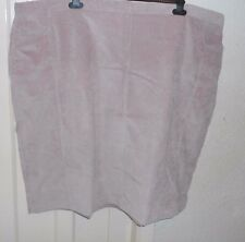 BNWT SIZE 32  SOFT PINK FINE CORD SKIRT WITH STRETCH