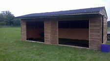 double apex field shelter 24x12ft