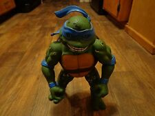 "1992 PLAYMATES TOYS--TEENAGE MUTANT NINJA TURTLES--13"" LEONARDO FIGURE (LOOK)"