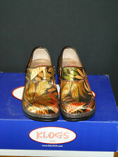 "KLOGS ""SONORA"" SIZE 6M Black and Gold Color New every day"