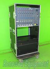 "Soundcraft BVE100 8-Channel Broadcast Console & 19"" Sessions Case on Casters"