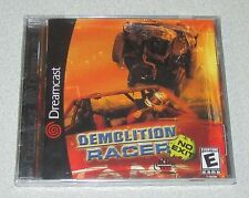 Demolition Racer: No Exit for Sega Dreamcast Brand New! Factory Sealed!