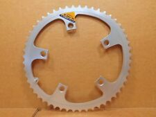 New-Old-Stock Shimano Biopace-SuperGlide Chainring...52T w/130mm BCD (Silver)