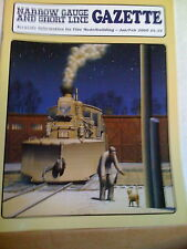 NARROW GAUGE & SHORT LINE GAZETTE Jan/Feb 2000 NG&SLG