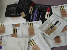 LOT FOND DE TEINT 15ml  ESTEE LAUDER ,CHANEL ,CLINIQUE ,RIMMEL + PUR COLOR ENVY