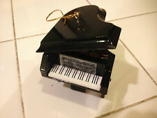 BLACK GRAND PIANO MUSICAL INSTRUMENT ORNAMENT NEW 2.75""