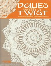 Doilies with a Twist Patricia Kristoffersen Crochet Instruction Pattern Book NEW