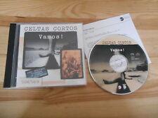 CD Rock Celtas Cortos - Vamos! (14 Song) WEA EASTWEST / Presskit