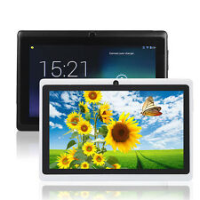 "7"" inch White Quad Core A33 Android 4.4 Dual Camera WiFi 1G/4GB Tablet EUplug"