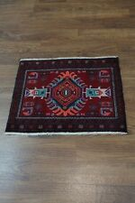 Beautiful Small Entrance Tribal Balouch Persian Oriental Area Rug Carpet 2'1X2'6