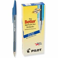 Pilot BP-S Better Ball-Point, Fine, Blue (PIL 36011) - 12/pk