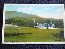 1920's The Biltmore Forest Country Club in Asheville, NC North Carolina PC