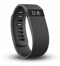 *NEW* Fitbit Charge Wireless Activity Wristband Black Size Large
