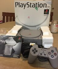 Sony PlayStation 1 Gray PS1 Console Complete CIB