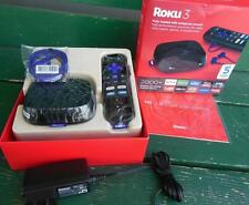 ROKU 3 HD DIGITAL STREAMING MEDIA PLAYER KIT w/ REMOTE ELECTRONICS HOME TV