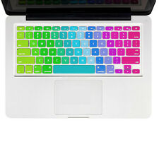 """Silicone Keyboard Protector Skin Cover For Macbook Pro Air Retina 13"""" 15""""17"""" US"""