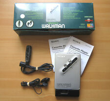 SONY WM-EX674 WALKMAN Kult Kassettenspieler Full Metal Body Remote Control OVP