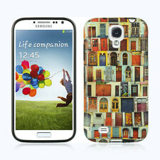 For Samsung Galaxy S4 TPU CANDY Gel Flexi Skin Case Phone Cover House Doors