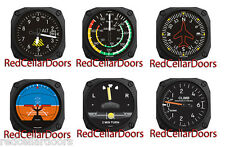 New TRINTEC Aviation Set of 6 Fridge Magnets ALTIMETER GYRO HORIZON CLIMB FM6-7