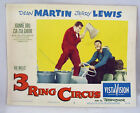 VINTAGE LOBBY CARD 1954 Dean Martin Jerry Lewis 3 RING CIRCUS #8