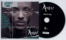 ANGEL About Time UK 15-trk numbered promo test CD Wretch 32 Trevor Nelson