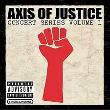 Various Artists: Axis of Justice: Concert Series Volume 1 (Bonus DVD)  Audio CD