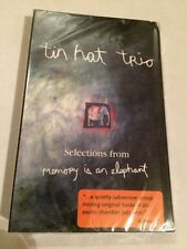 Tin Hat Trio Promo Cassette - Selections From Memory Is An Elephant -New, Sealed